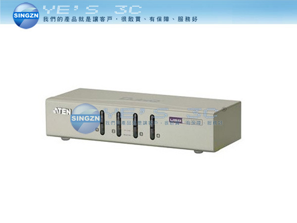 「YEs 3C」全新 ATEN KVM CS74U 4-Port USB KVM Switch 多電腦切換器 免運 yes3c