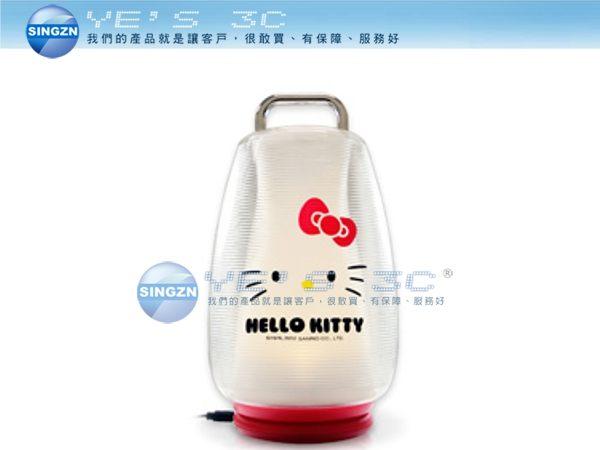 「YEs 3C」全新 日本三麗鷗 Hello Kitty KT-LED05 LED可充電式攜帶型照明燈 小夜燈 無線 7ne