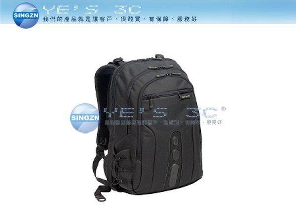 「YEs 3C」Targus 泰格斯 Spruce 環保後背包 15.6吋 b013ap 獨立3C收納袋 免運 6ne