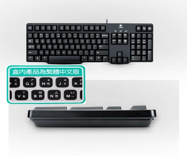 「YEs 3C」全新 Logitech 羅技 Classic Keyboard K100 經典有線鍵盤 防濺灑設計 PS/2