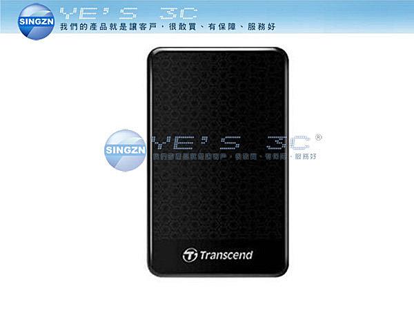 「YEs 3C」創見 2TB USB3.0 StoreJet 25A3 隨身硬碟 (TS2TSJ25)  免運 10ne yes3c