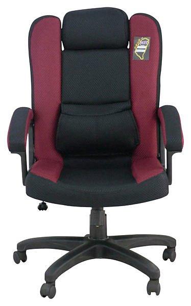 【 尚品傢俱】124-03 艾維 紅黑網布護腰氣壓升降辦公椅/電腦椅/扶手椅