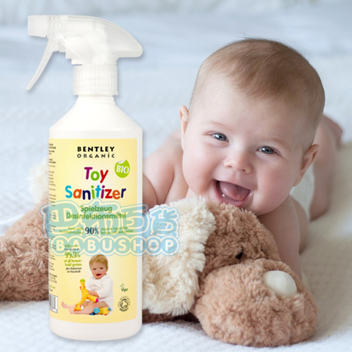 【巴布百貨】英國 BENTLEY ORGANIC 有機兒童玩具除菌清潔劑 (50ml)