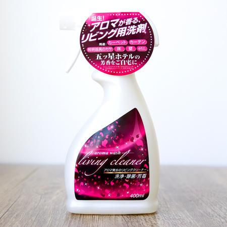 日本友和 Aroma wash 室內專用香氛清潔噴霧 400mL 芳香 清潔劑【N202137】