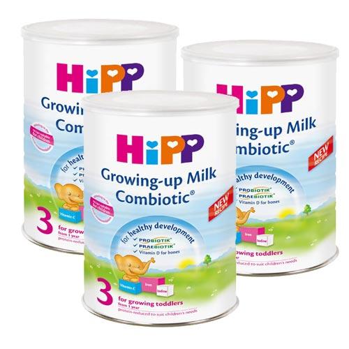 【奇買親子購物網】HiPP喜寶雙益幼兒成長奶粉/3入