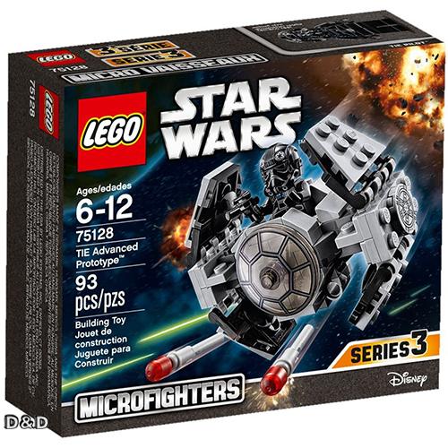 樂高積木LEGO《 LT75128 》2016 年 STAR WARS 星際大戰系列 - TIE Advanced Prototype™
