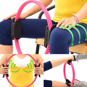 有氧美型彈力韻律圈C109-5802(健身圈瑜珈圈美體圈美腿夾.貝殼機剪肥圈瑜珈環健美環.普拉提圈美腿機運動器材推薦哪裡買)