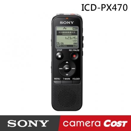 Sony ICD-PX470 PX470 錄音筆 4GB 可擴充 MP3 索尼公司貨 sony