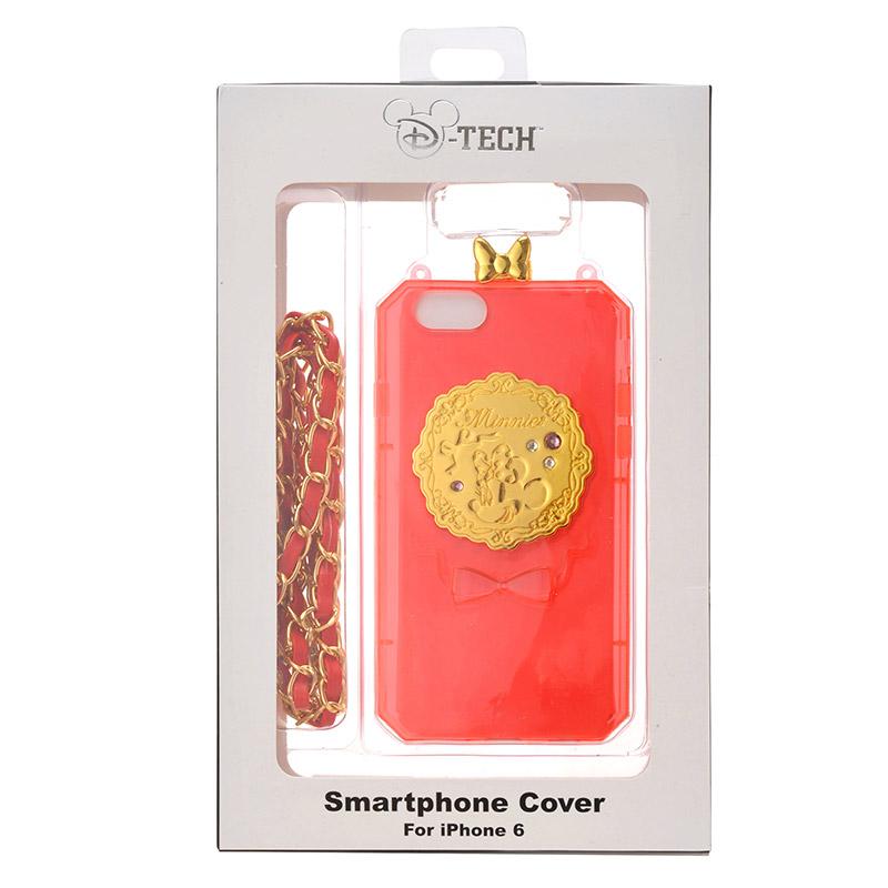 【真愛日本】15081000030 日本限定ip6手機殼米妮紅 迪士尼 米老鼠米奇 米妮 手機殼 手機套 3C周邊