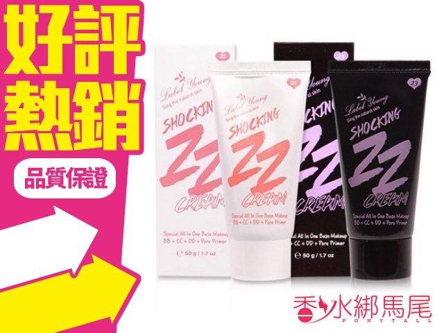 韓國 Label Young 震撼ZZ霜 一條搞定 全效版 50g◐香水綁馬尾◐