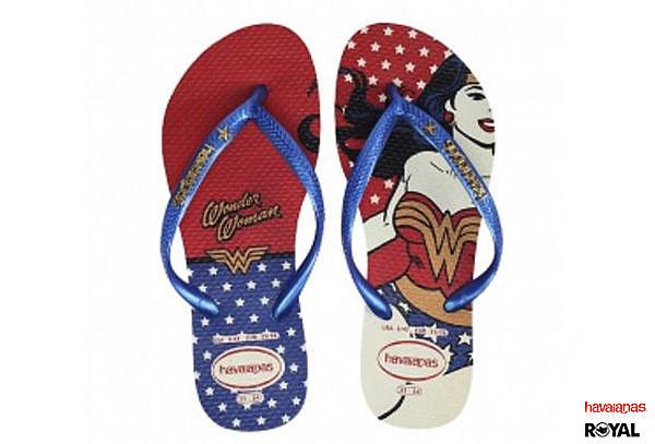 Havaianas 哈瓦士 新竹皇家 Heroinas 美人 女英雄系列 夾腳拖鞋 女款 NO.H1405