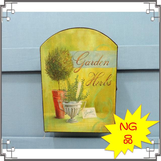 -NG-皮革KEY BOX《NG-C》鄉村風鑰匙盒 壁飾 壁櫃 居家布置◤彩虹森林◥