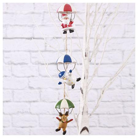 聖誕掛飾 降落傘