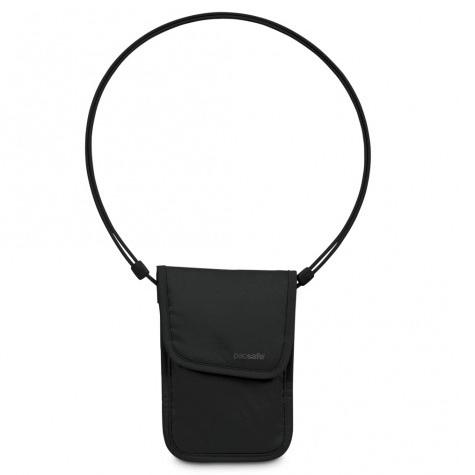 澳洲 PacSafe coversafe 75 貼身防盜包 黑|隱藏式|錢包|旅遊|護照包 PE103BK