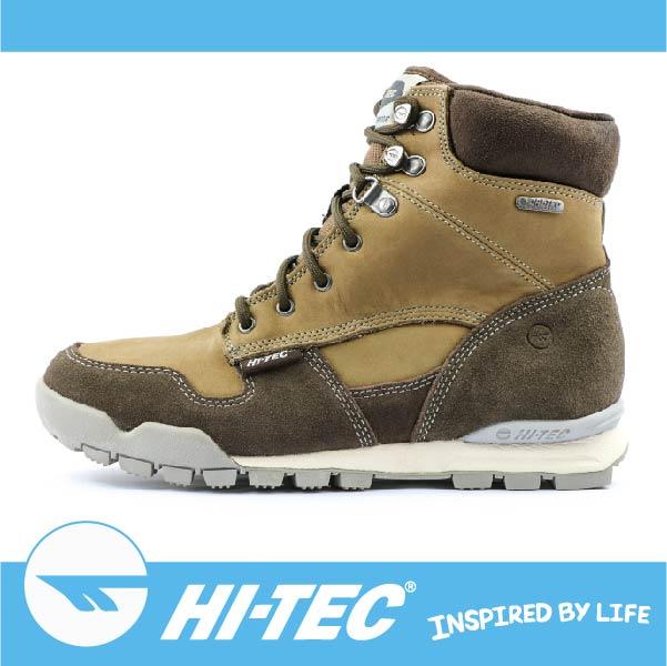 萬特戶外運動 HI-TEC 塔爾瑪SIERRA TARMA I WP O005704042 女款高筒保暖靴 吸濕排汗 透氣 棕色