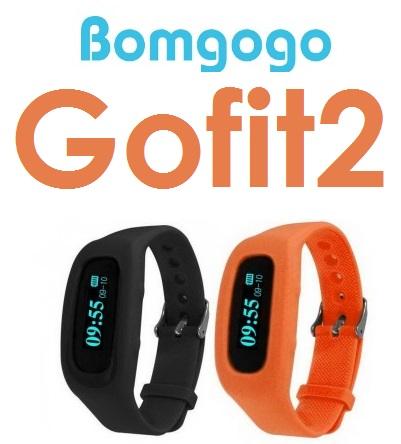 【原廠盒裝】Bomgogo Gofit2 藍牙自拍健康手環 手錶 遙控拍照 卡路里