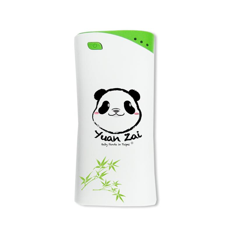 貓熊造型鐵盒行動電源-PowerSkin®KP5202動物園大圓仔5200mAh-台灣區限定版