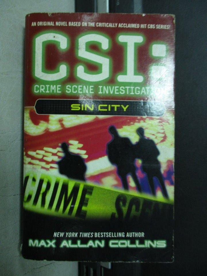 【書寶二手書T7/原文小說_NSZ】CSI:SIN CITY_2003