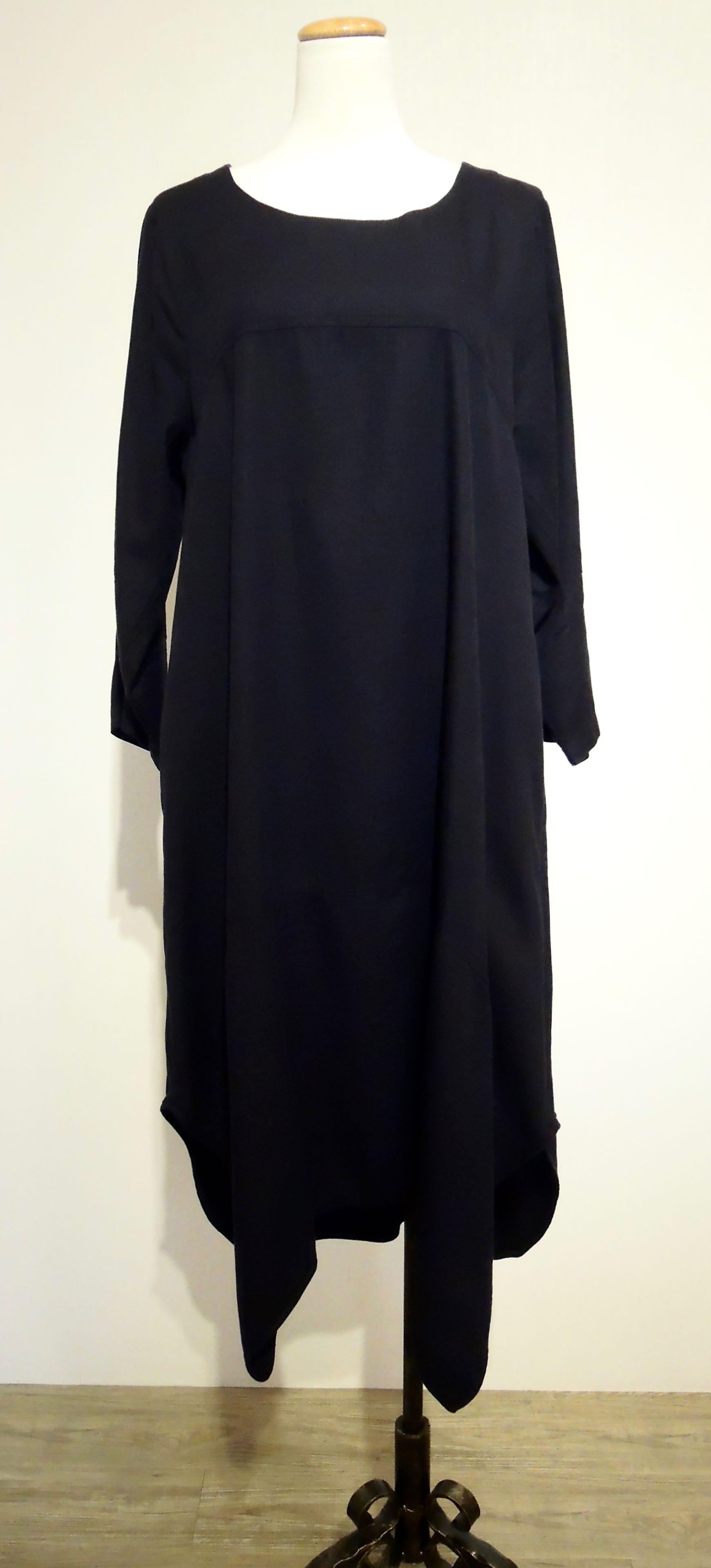 純棉寬鬆休閒長洋裝