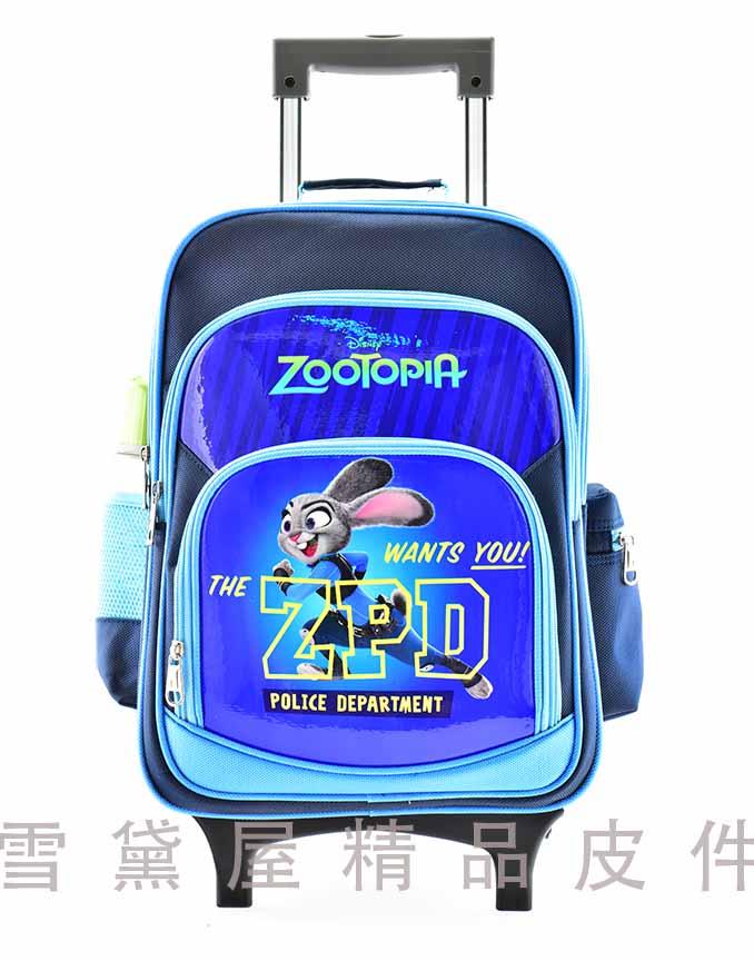 ~雪黛屋~動物方程式~哈茱蒂拉桿書包二層主袋鋁合金拉桿手提後背拉桿式國家CNS標準檢驗通過袋內三層多外袋 ZZT3G61