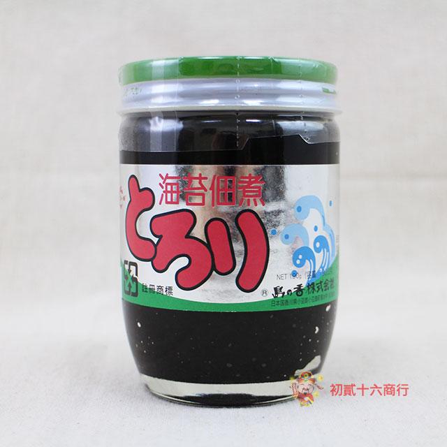 【0216零食會社】日本島之香-佃煮海苔醬190g