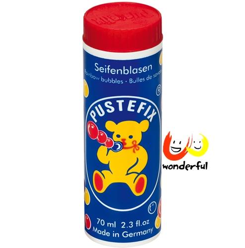 德國【Pustefix】泡泡熊體驗罐70ml