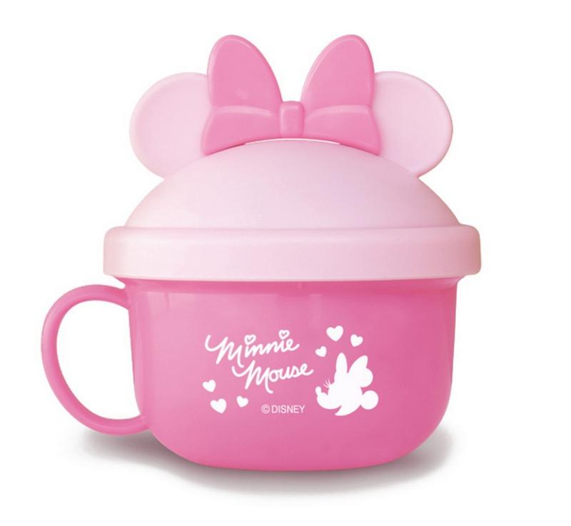 『日本代購品』米妮粉款 迪士尼米妮粉 兒童零食碗 日本製