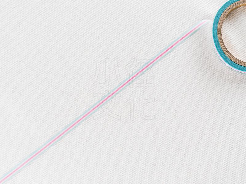 *小徑文化*日本進口和紙膠帶 Word carft系列 - 橫條.粉 ( W02-MK-T0073 )