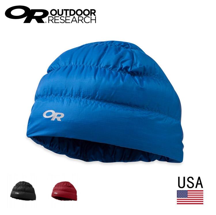 美國 Outdoor Research  OR243485 輕量透氣保暖羽絨帽 帽子 / 城市綠洲 (透氣.保暖)