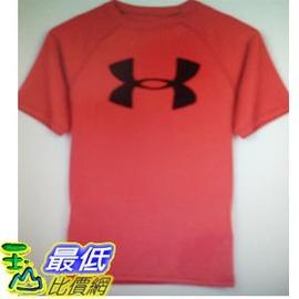 [COSCO代購 如果沒搶到鄭重道歉] Under Armour  男童短袖 T 恤 (紅) _W1017400