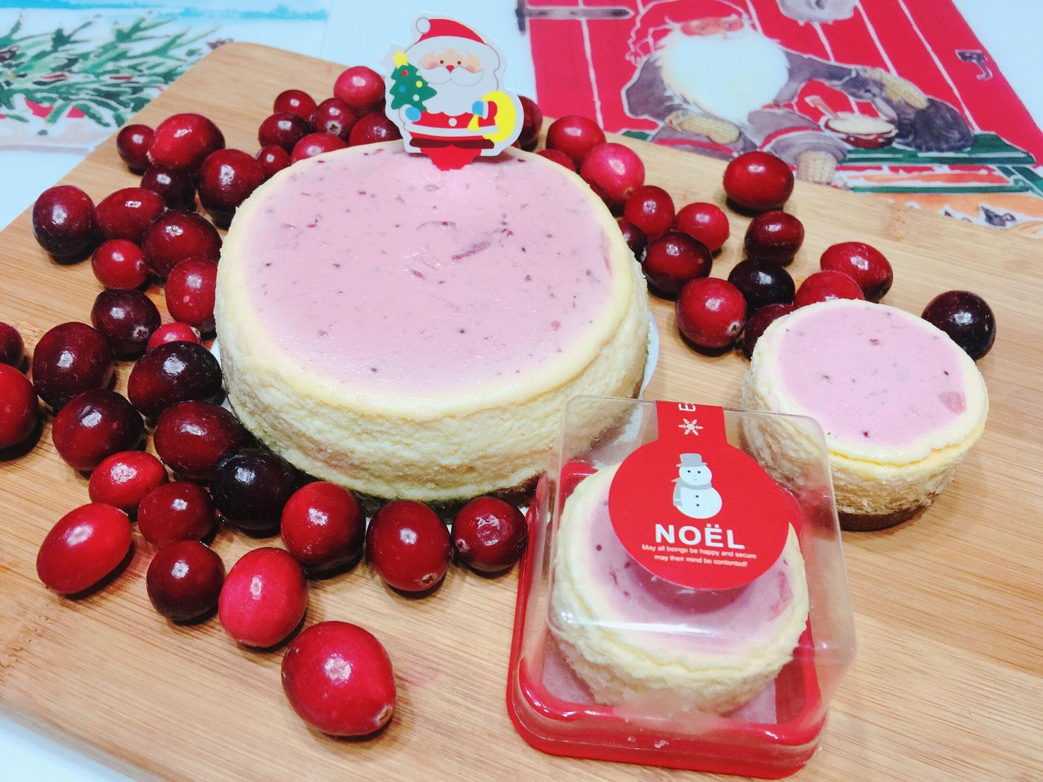 【聖誕限定】Dr.Bonbons 6吋幸福蔓越莓 Cheesecake