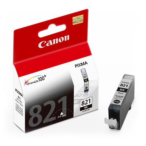 CANON CLI-821BK 原廠淡黑色墨水匣 CLI-821 BK 適用 IP3680/IP4680/IP4760