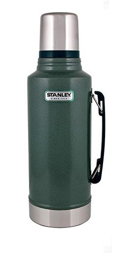 【鄉野情戶外專業】 Stanley |美國|  Stanley 經典真空保溫瓶 1.9L-綠_10-01289