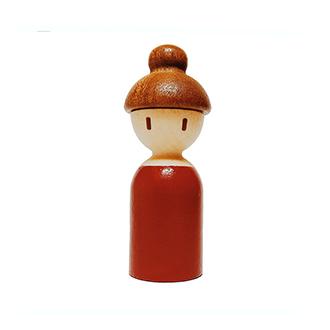 木媽媽積木/設計創意 原木兒童生日禮物 非樂高玩具