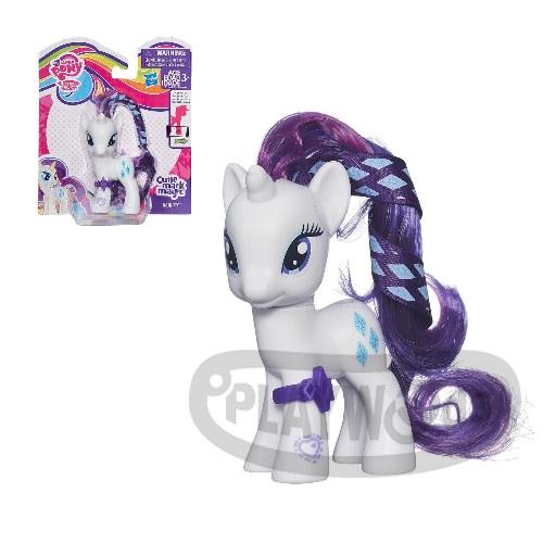 【Playwoods】[彩虹小馬My Little Pony] 第五季基本小馬組-珍奇Rarity(可搭配APP遊戲/友情就是魔法/可愛標誌魔法/MLP/水晶王國/小馬寶莉/我的小馬駒/Friendship Celebration/孩之寶Hasbro)