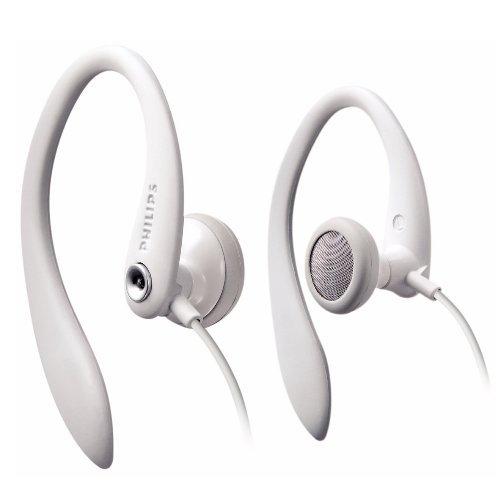 【迪特軍3C】PHILIPS 飛利浦 SHS3201 運動款耳掛式耳機 白色