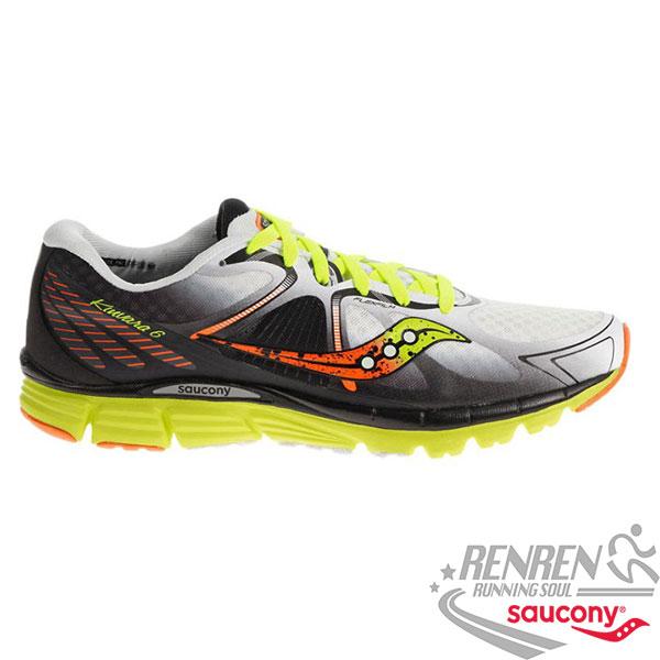 SAUCONY KINVARA 6 男慢跑鞋 (黑*白) 輕量耐磨