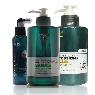 Keyra 奇拉 毛囊淨化液 150mL+平衡洗髮精(清涼) 1000ml+頭皮敷髮泥500ml
