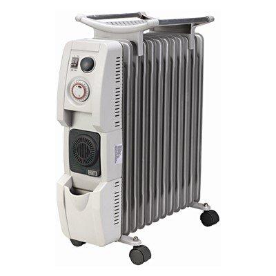 贈洗顏器(3年保固)勳風 12片葉片式陶瓷電暖器(HF-2212)含防塵袋與加濕盒