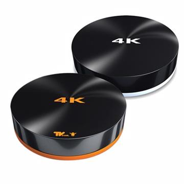 Lantic喬帝(彩虹奇機)4K2K高清解碼(4核心/8G/雙頻/WIFI)An電視盒/加贈市droid價990!勳風循環扇(HF-7108)2色任選(黑白/黑橘)