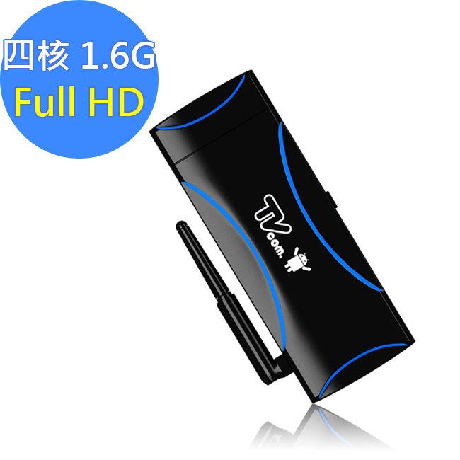 喬帝Lantic彩虹奇機三代 4核心AIR TV-超速版Android 4.4.2電視棒(L006)