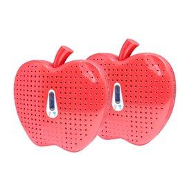 (WISER智慧家)(贈市價399元iPhone5保護套)MEIJI(美緻) 無線式除溼機-環保紅蘋果(MJ-826)-兩入組(含運)