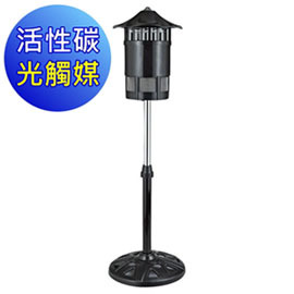 (WISER智慧家)勳風 捕蚊專家光觸媒滅蚊燈(立式)(防火材質) HF-8009F(含運)