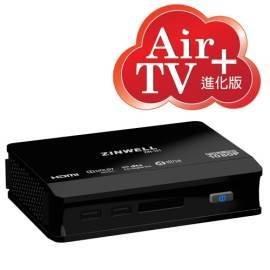 (WISER智慧家)(加送無線網卡)AIR TV進階版ZINWELL兆赫HD影音藍光II加值版(多媒體播放器ZIN-101)