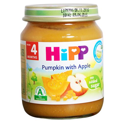 HiPP喜寶 有 機蘋果南瓜泥