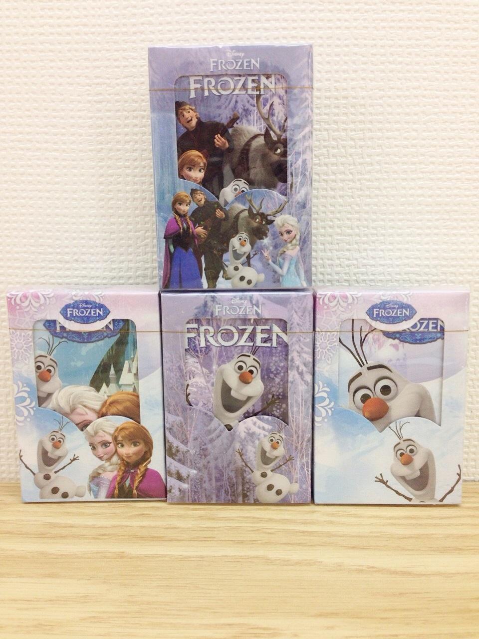 【真愛日本】15111600002撲克牌-冰雪奇緣人物多款  迪士尼 冰雪奇緣 Frozen  撲克牌  紙牌  遊戲
