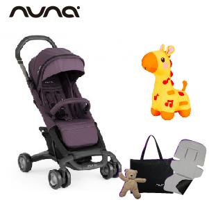 【贈4大好禮】荷蘭【Nuna】Pepp Luxx 二代時尚手推車(紫色)