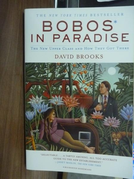 【書寶二手書T4/原文書_QGK】Bobos In Paradise_David Brooks