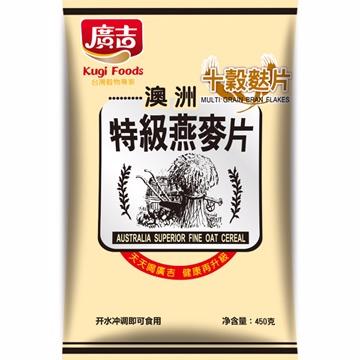 《廣吉》廣吉特級燕麥片-十穀麩片 (450g)