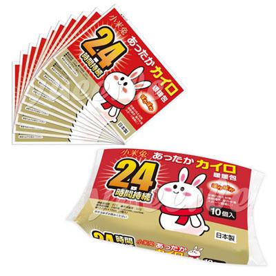 【悅兒樂婦幼用品舘】bab 培寶 小米兔暖暖包(手握式) 10個入